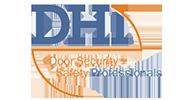 DHI Blue logo