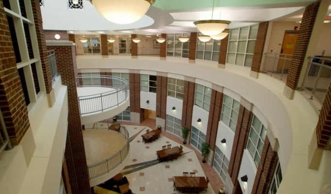Lobby view from up high
